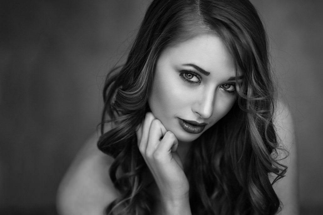 Schwarz/Weiß Sensual Portrait