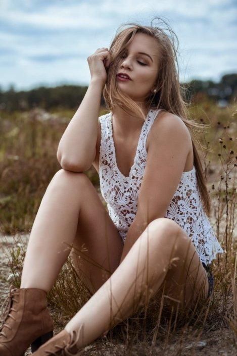 Outdoor Portrait, Model Katha