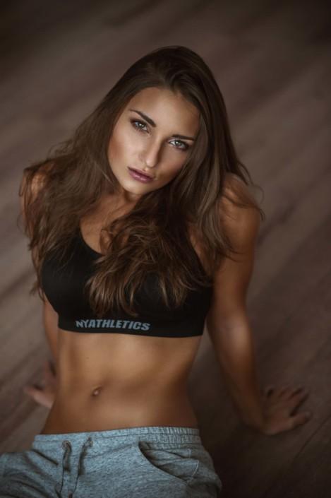 Fintness-Portrait, Model Medea