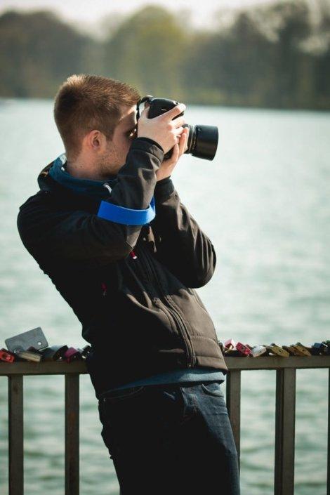 Outdoor Fotokurs Portrait am Maschsee