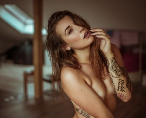 Indoor Sensual Portrait