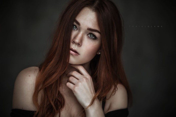 Availabe Light Portrait, Model Katahrina