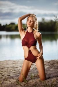 Annetta Negare Playmate Bikini