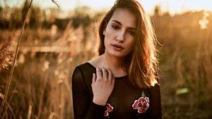 Gegenlicht Portrait, Model Jenni