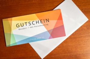 Gutschein Boudoir- und Akt-Fotoshooting